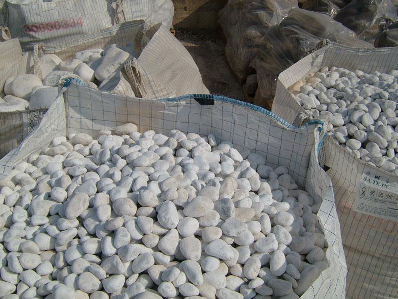 Ciottoli di marmo bianco ciottoli di marmo di carrara for Ciottoli bianchi